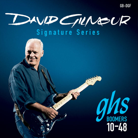 GB-DGF GHS David Gilmour Signature Series Boomers Electric Guitar String Set - 10-48