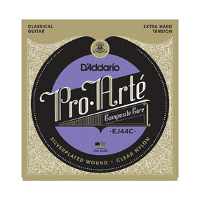 EJ44C D'addario Pro-Arte Composite Core Classical Guitar String Set - Extra Hard Tension