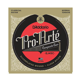 EJ45C D'addario Pro-Arte Composite Core Classical Guitar String Set - Normal Tension