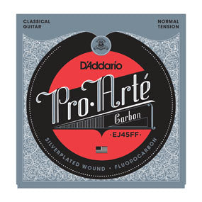 EJ45FF Pro-Arte DynaCarbon Classical Guitar Strings Fluorocarbon / Silver Wound - Normal Tension
