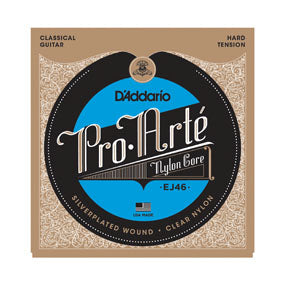 EJ46 D'Addario Pro-Arte Classical Guitar String Set - Hard
