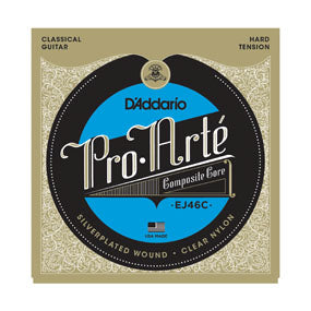 EJ46C D'addario Pro-Arte Composite Core Classical Guitar String Set - Hard Tension