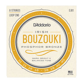 EJ81 Phosphor Bronze Irish Bouzouki String Set