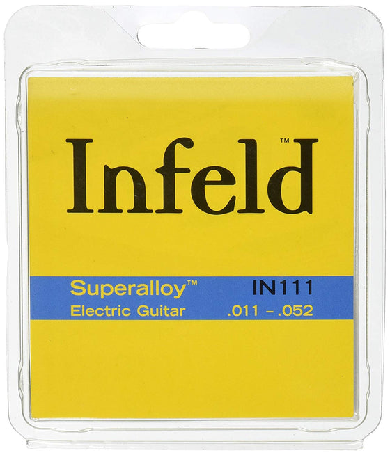 IN111 Infeld Superalloy Electric Guitar String Set - Medium