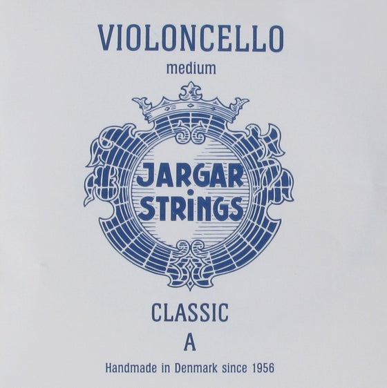 3JCS Jargar Cello String Set - Medium (Blue Logo)