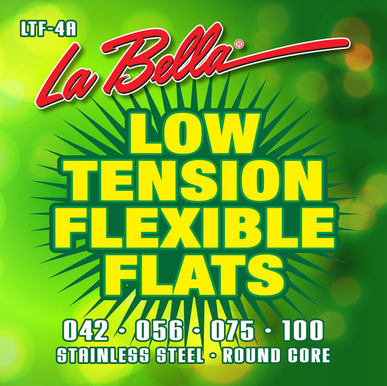 LTF-4A LaBella Low Tension Flexible Flats - Stainless Steel Round Core 42-100