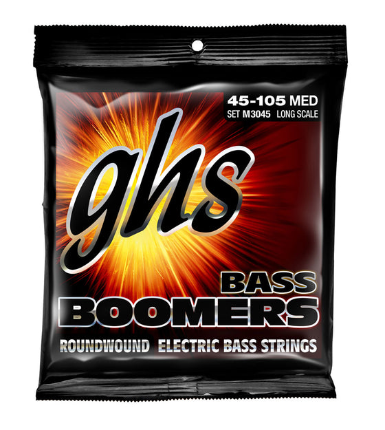M3045 GHS Boomers Electric Bass Set 45 - 105 Long Scale