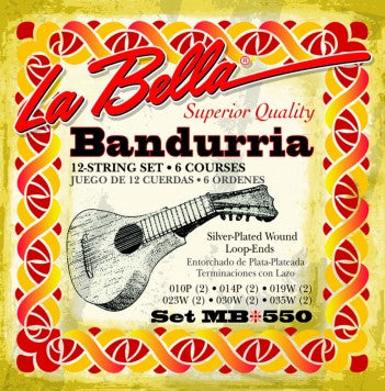 MB550 LaBella Bandurria String Set