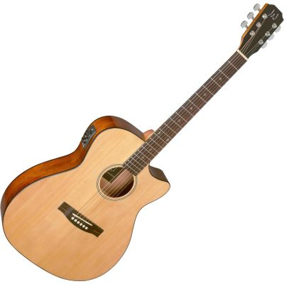 BES-ACE N James Neligan Concert Acoustic Guitar - Natural