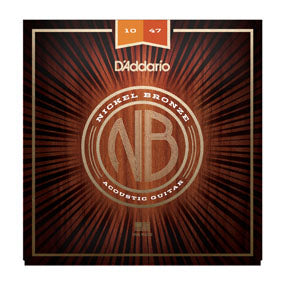 NB1047 Nickel Bronze Acoustic Guitar Strings - Extra Light