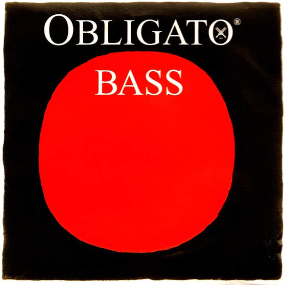 Obligato Double Bass Set by Pirastro - 3/4 Synthetic