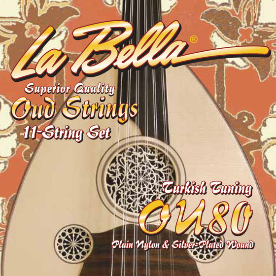 OU80 LaBella Oud String Set - Turkish Tuning