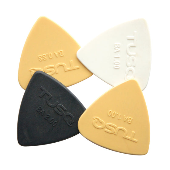 PQP-0400-BA Tusq Bi-Angle Pick 4 Pack - Mixed