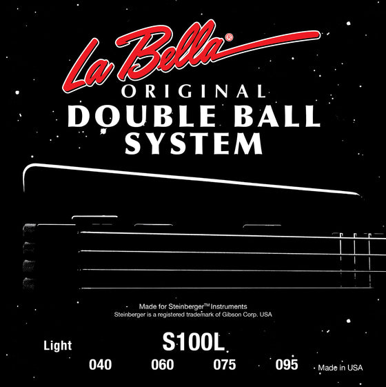 S100L LaBella Double Ball Bass Set - Light 40-95