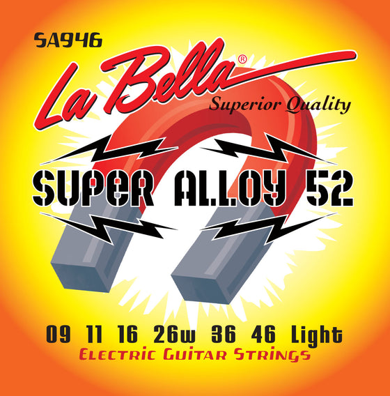 SA946 LaBella Electric Guitar Strings Super Alloy - Light