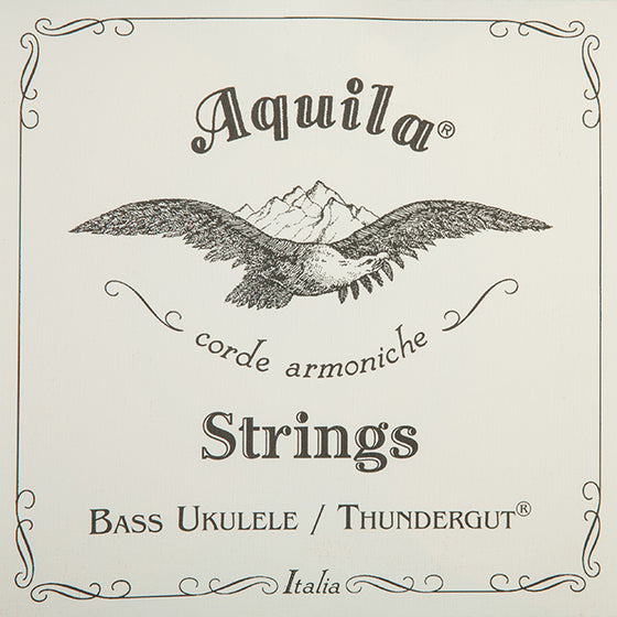 68U Aquila Bass Ukulele Strings - Thunder Gut GDAE