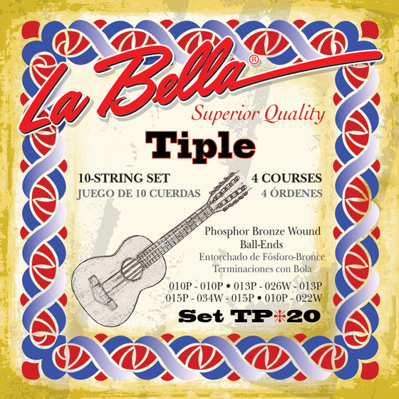 TP20 LaBella Tiple String Set - Standard