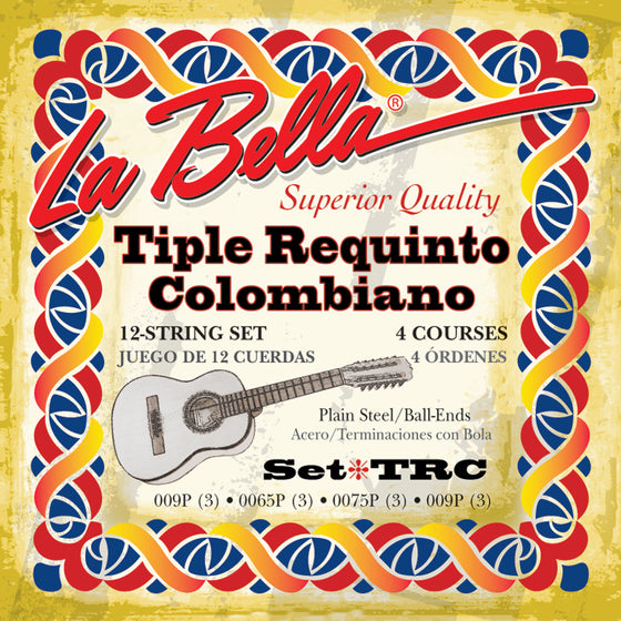 TRC LaBella Tiple Requinto Colombiano String Set