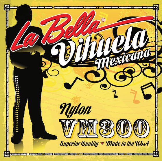 VM300 LaBella Vihuela de Mexico String Set