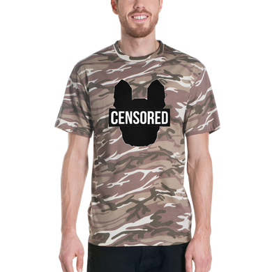 T-Shirt Camouflage Censored