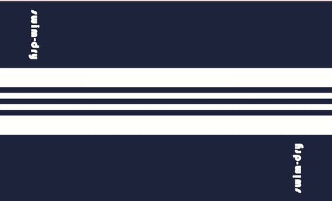 Sea Breeze Plus  ( Navy/ White ) Stripe