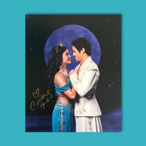 Autograph - Courtney Reed - Jasmine & Aladdin