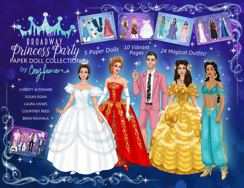 BPP - NEW!! Paper Dolls by Cory Collection