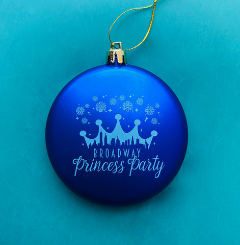 BPP Holiday Ornament - Blue