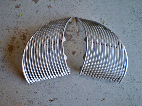 1939 CADILLAC LASALLE L&R FRONT GRILLS CS061