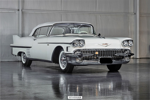 1958 CADILLAC ALLANTE CONVERTIBLE COUPE CS395