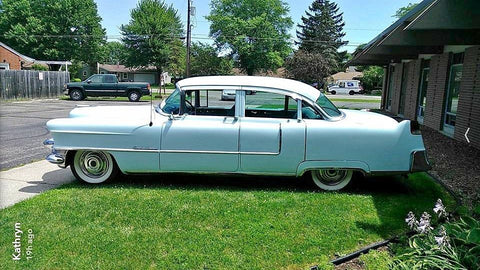 1955 CADILLAC SERIES 62 SEDAN CS436