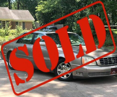 2004 CADILLAC DEVILLE SEDAN CS483 ***SOLD***