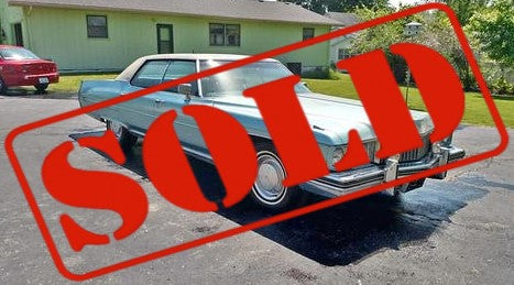 1973 CADILLAC DEVILLE SEDAN CS509 ***SOLD***