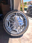 "CADILLAC 20"" RIMS CS526"