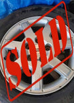 "CADILLAC OEM 16"" WHEELS AND TIRES CS533 ***SOLD***"
