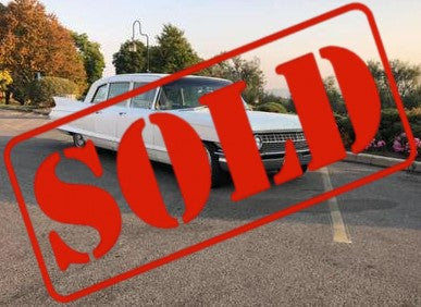 1961 CADILLAC FLEETWOOD LIMOUSINE CS556 ***SOLD***