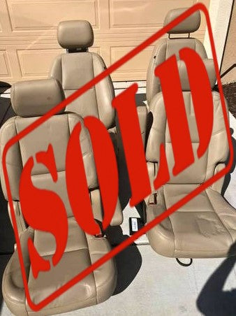 CADILLAC ESCALADE SEATS CS562 ***SOLD***