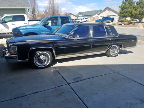 1980 CADILLAC FLEETWOOD SEDAN CS563