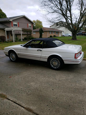 1990 CADILLAC ALLANTE CONVERTIBLE COUPE CS588