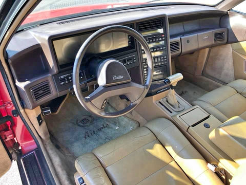 1988 CADILLAC ALLANTE CONVERTIBLE COUPE CS590