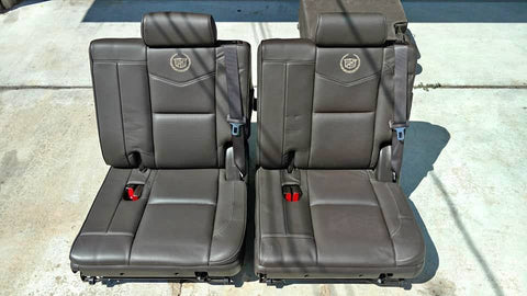 2007-2014 CADILLAC ESCALADE 2ND AND 3RD ROW SEATS CS421