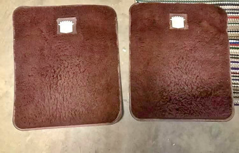 1977-1985 CADILLAC OEM REAR FLOOR MATS CS548