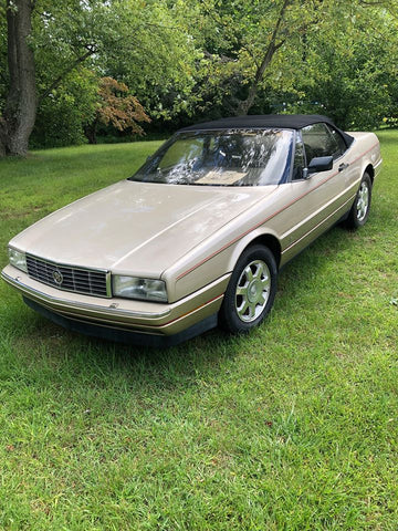 1991 CADILLAC ALLANTE CONVERTIBLE COUPE CS589