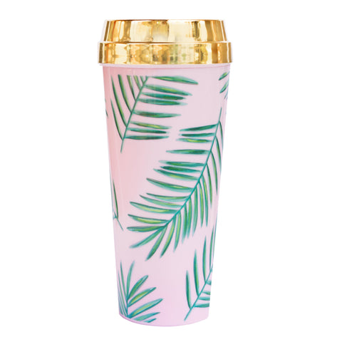Palms Tropical Travel Mug - Lavender Willow