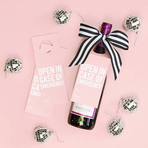 Emergency Wine Tags - A Wine & Spirits Gift Kit- Box of 3 - Lavender Willow
