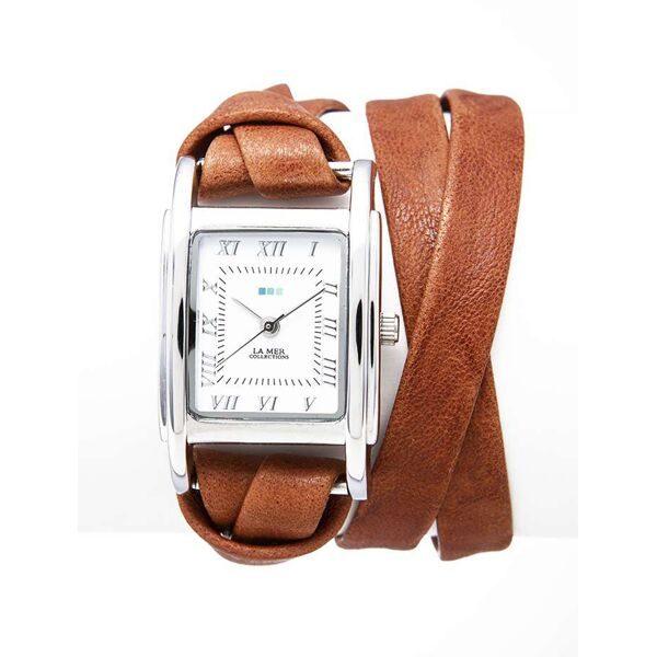 Tobacco Silver Milwood Watch