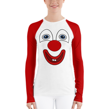 Load image into Gallery viewer, Clownify Women's Long Sleeve Athletic Shirt