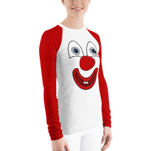 Load image into Gallery viewer, Clownify Women's Long Sleeve Athletic Shirt - Rhonda World