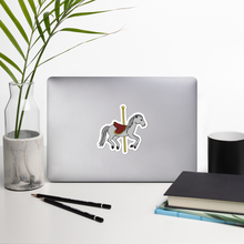 "Load image into Gallery viewer, Creepy Carousel 4"" Vinyl Sticker"