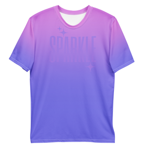 Sparkle Ghost Text Men's Tee